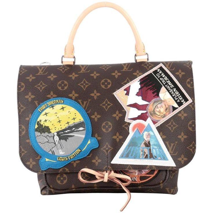 Louis Vuitton Cindy Sherman Camera Messenger Bag Patch Embellished Monogram