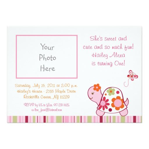 387 best turtle birthday party invitations images on pinterest trendy tropical turtle birthday invitations stopboris Images