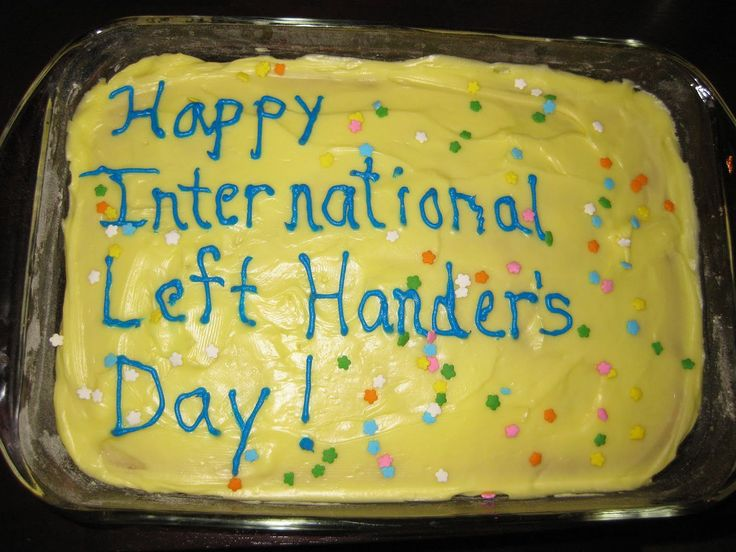Happy National Left Handed Day | Have Ewe Any Wool?: Happy International Left-Hander's Day!
