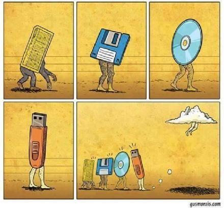 Evoluzione del data storage.