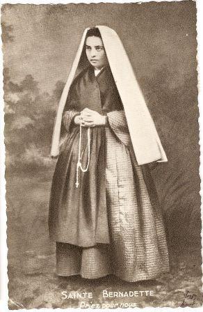 """""""Sainte Bernadette priez pour nous"""" by rosewithoutathorn84, via Flickr"""