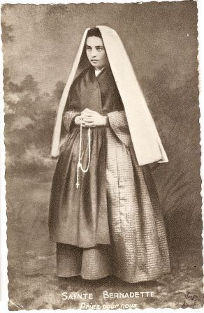 """Sainte Bernadette priez pour nous"" by rosewithoutathorn84, via Flickr"