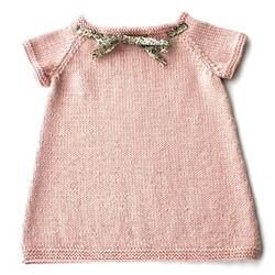 Baby knitted dress (to try using one of my old sweaters!?)