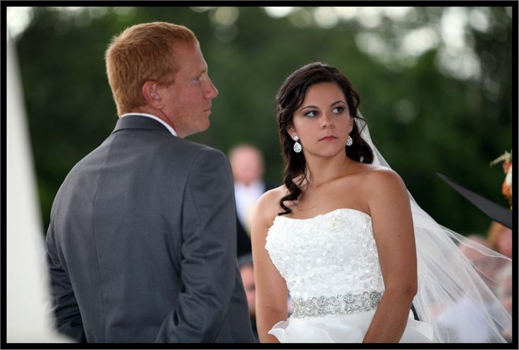 Extensions and airbrush makeup on this gorgeous bride