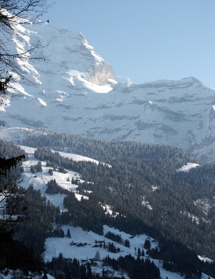 Looking from Wengen, Switzerland