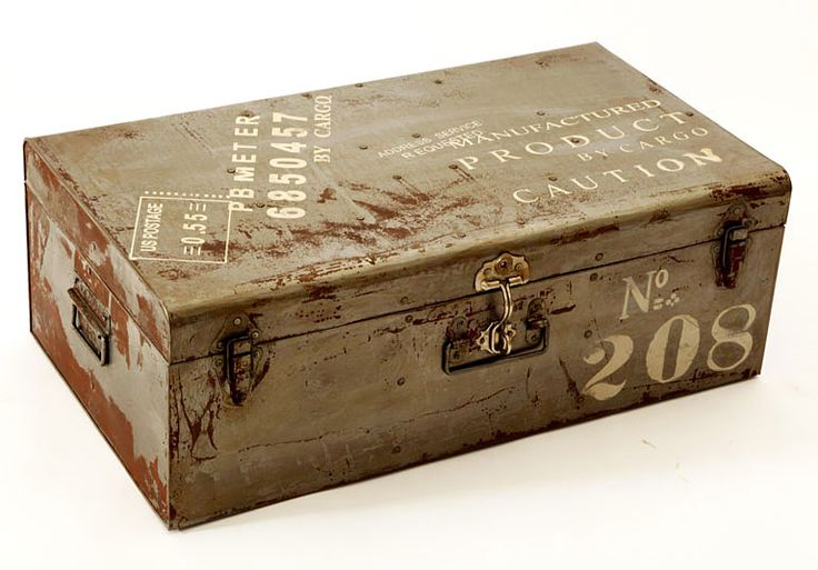 Baul Antiguo Antone   Material: Madera Tropical   ... Eur:109 / $144.97