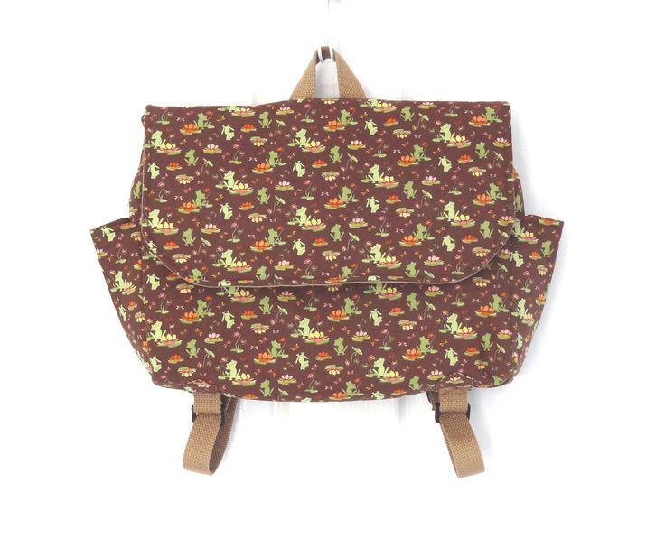 Custom Order Postman Satchel Style Backpack