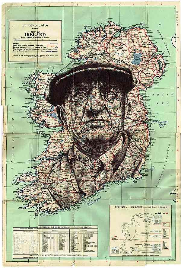 42 best maps and identity images on pinterest cartography map art awesome bic biro drawings gumiabroncs Image collections