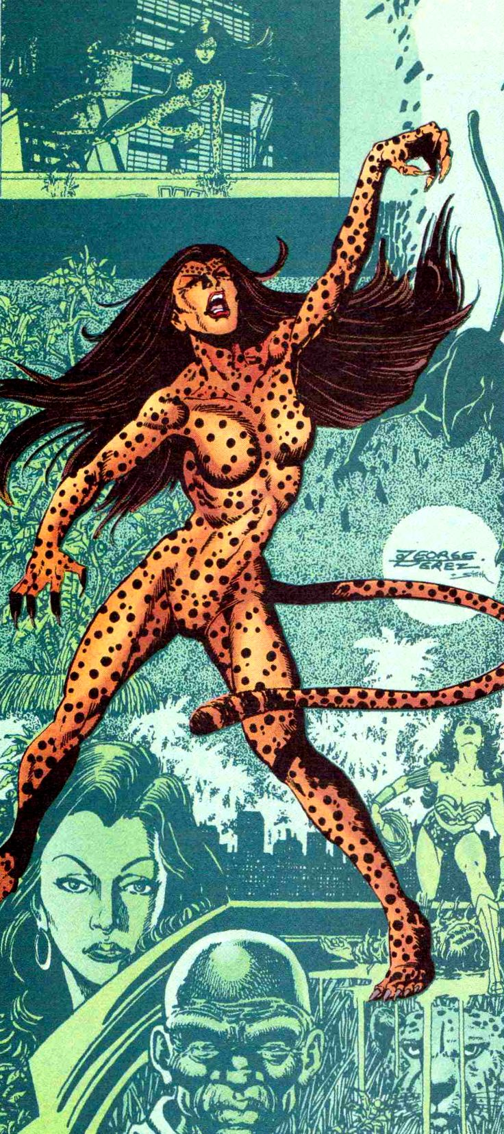 The Cheetah by George Perez...the best version of her in my opinion.