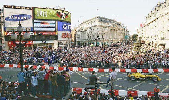 F1 chiefs plan demonstration run in London before British Grand Prix