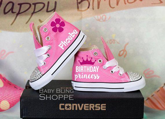 c29b29c72 Princess Birthday Outfit Bling Shoes Princess Custom Shoes | Disney ...