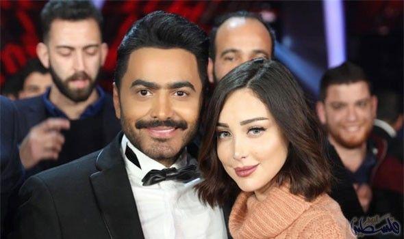 انتشار أنباء عن زواج بسمة بوسيل من الفنان الأردني يحيى صويص Celebrity News Celebrities