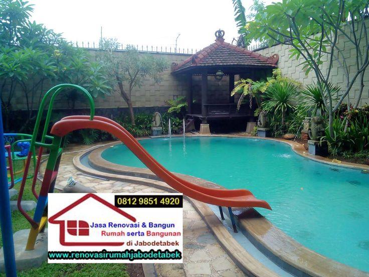 Jasa Renovasi Kolam Renang Hubungi : Telp. 021 83600664, Hp. 081298514920, 082213361097, BBM 570508BE, Email : renovasirumahjabodetabek@gmail.com http://www.renovasirumahjabodetabek.com/2015/09/jasa-renovasi-kolam-renang.html