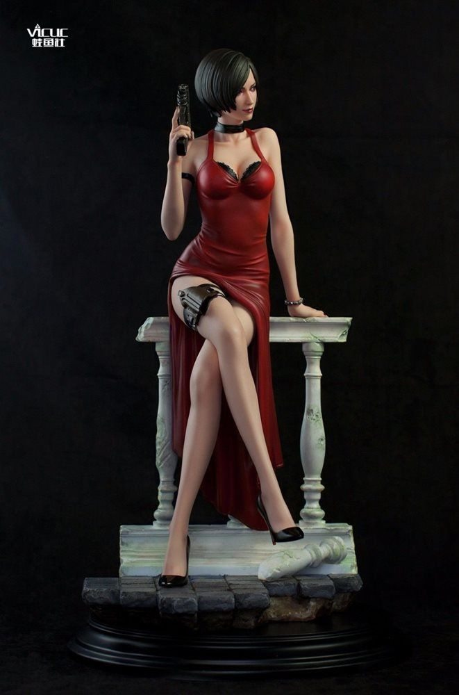 1  4 scale sexy miss ada wong resident evil statue v