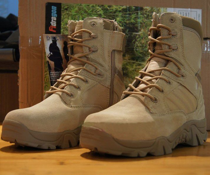 Tactical Boots,Military Desert Combat Boots Shoes Summer Breathable Boots Krav Maga