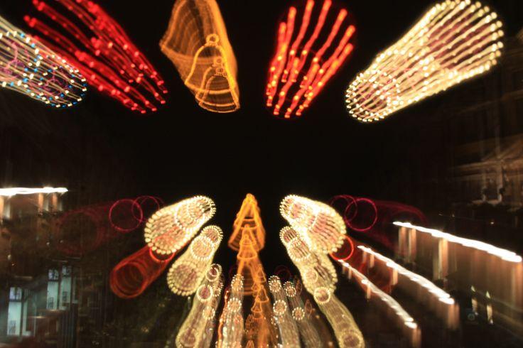 Zoom bursts with Christmas Lights ~~ Leeds