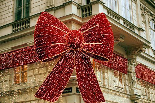 Macy's Christmas decoration, NYC