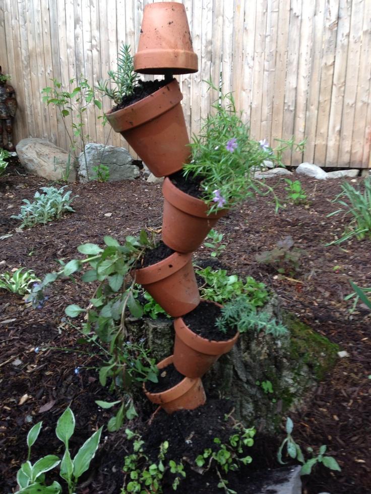 Garden decor DIY