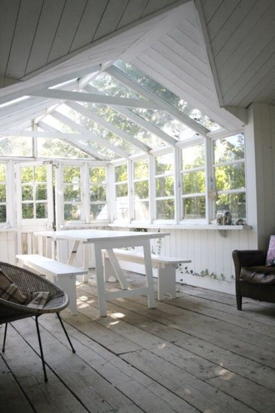 Locations | Film & Photography location | Kent | Foster House | Garden Room - I want an addition like this someday.