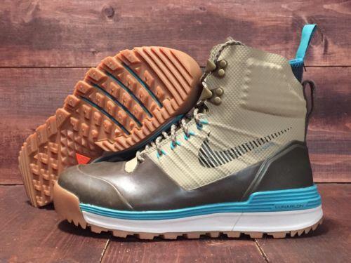 hot sales 4355e 26891 ... Nike Lunar Terra Arktos Acg Boots Bamboo Black Teal Wmns Sz 9 (  616178-203 ...