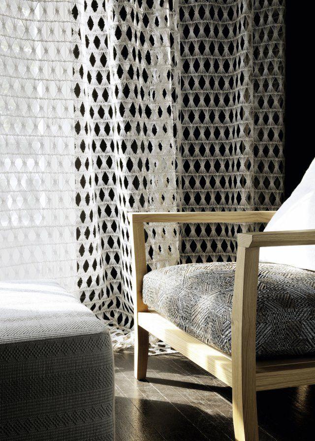 les 68 meilleures images du tableau rideaux curtains sur. Black Bedroom Furniture Sets. Home Design Ideas
