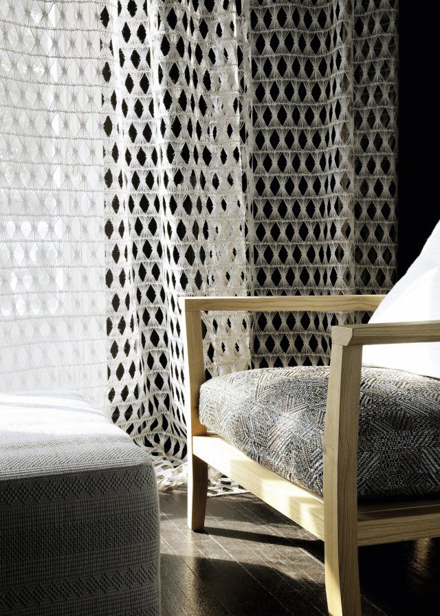 1000 id es sur le th me rideaux contemporains sur. Black Bedroom Furniture Sets. Home Design Ideas