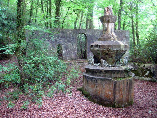 Fountain in Tivoli Park Lerryn