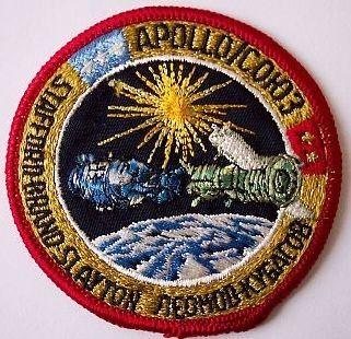 space mission patches | Apollo Soyuz Crew Mission Patch