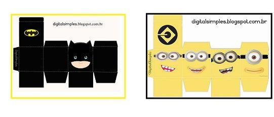 caixa cubo batman