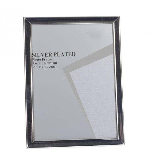 METAL SILVER PLATED FRAME 15X20