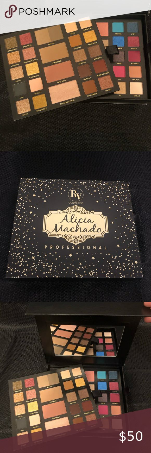 RV cosmetics palette Alicia Machado Receive a free