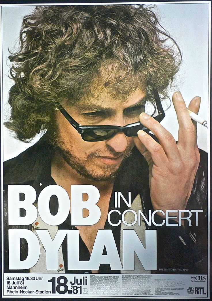 Bob Dylan - 1981 Mannheim Germany: b. Robert Allen Zimmerman (Hebrew: רוברט אלן צימרמאן‎,) May 24, 1941, Duluth, Minnesota; raised on Mesabi Iron Range west of Lake Superior. Paternal grandparents, Zigman & Anna Zimmerman, emigrated from Odessa (now Ukraine) to U.S. following anti-Semitic pogroms 1905. Maternal grandparents, Edelstein, Lithuanian Jews  arrive 1902. Paternal grandmother, Kirghiz family originating Kağızman NEastern Turkey. wikipedia http://recordmecca.com