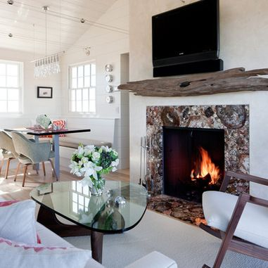 20 Best Images About Fireplace On Pinterest Modern Beach