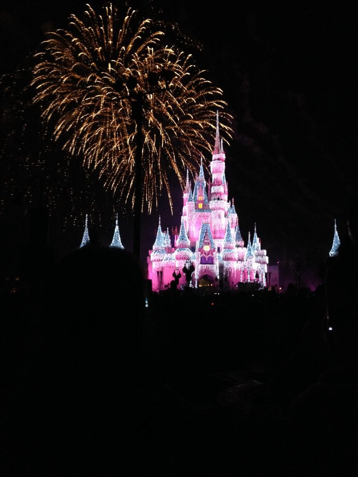 Disney fireworks 2016