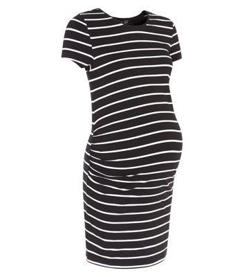 Maternity Stripe Tunic Dress