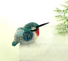 Image result for glass beads miniature animals