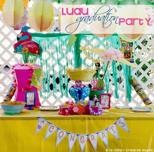 Luau Graduation Party :: REAL PARTIES | luau | Pinterest