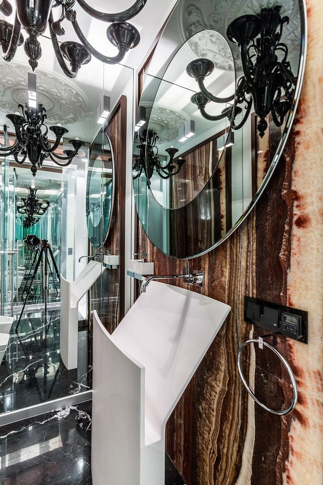 Необычная и современная раковина для вашей ванной комнаты. #раковина_для_ванной #раковина_в_ванну #раковина