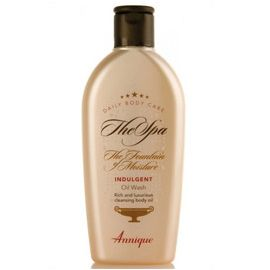 Indulgent Oil Wash – 200ml  An ultra rich and hydrating cleansing oil. The ultimate shower or bath time experience that leaves your skin luxuriously moisturised. http://www.anniquedayspa.co.za/eb_product/indulgent-oil-wash-200ml/