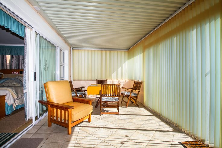 Sun room perfect for enjoying the colder winter months with a warm cup of your favourite beverage in hand.