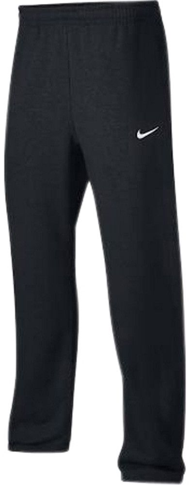 Get the classic comfort look with the Nike Club Swoosh Men's Athletic Sweatpants! These feature: classic straight leg fit, not skinny, embroidered Nike swoosh, elastic waist, and 2 pocket design. Made