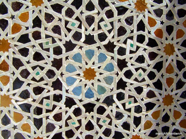 azulejo de la Madraza Bou Inania, Fez