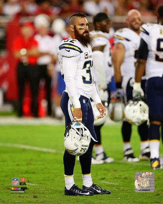 Los Angeles Chargers Eric Weddle 8x10 Action Photo