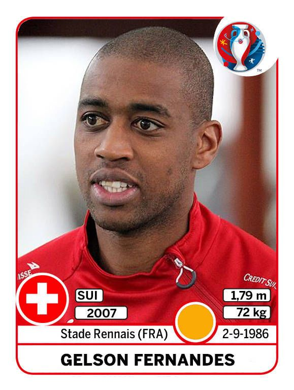 Gelson Fernandes Panini EURO 2016