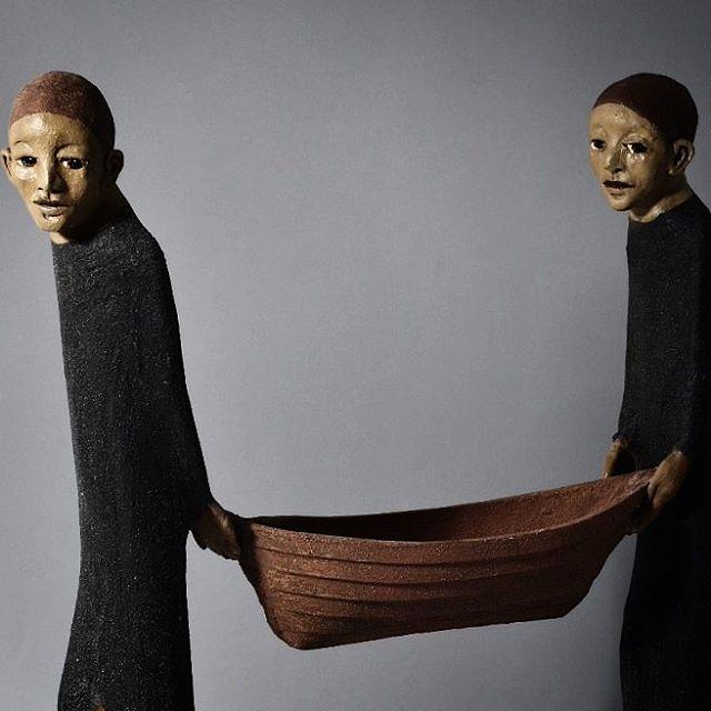 276 vind-ik-leuks, 4 reacties - Anu Allikas (@anuallikas) op Instagram: 'Detail of the sculpture I delivered to the Port of Stavanger today. Entire size 75 x60 cm…'