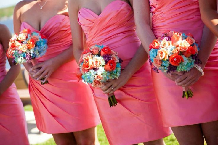 Coral And Turquoise Wedding: Coral And Turquoise Wedding Colors, Love!!!