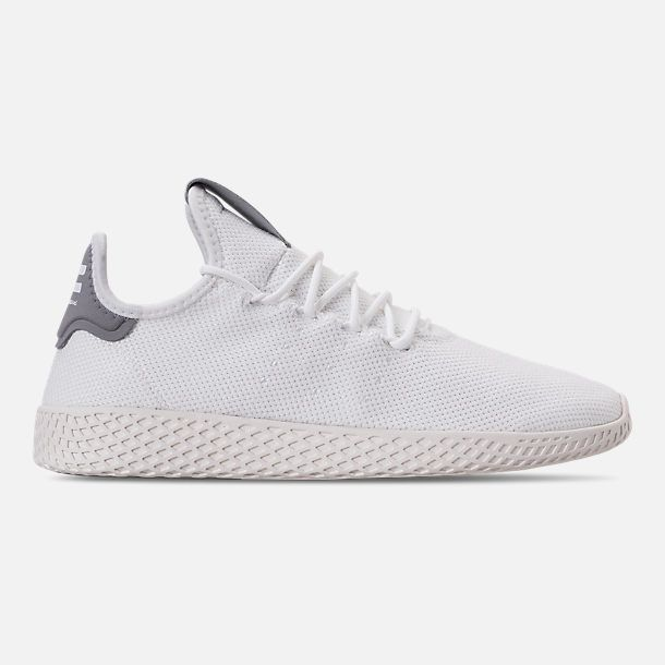 8dcd92378c315 Right view of Men s adidas Originals Pharrell Williams Tennis HU Casual  Shoes in Footwear White Chalk