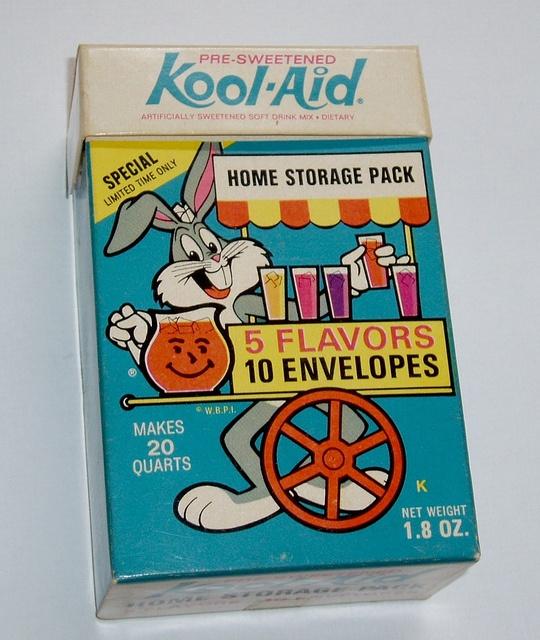 Bugs Bunny Kool Aid box