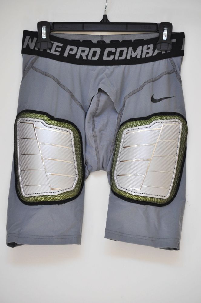 Nike Pro Combat Hard Plate HyperStrong Compression Football Men Shorts size S #Nike #BaseLayers