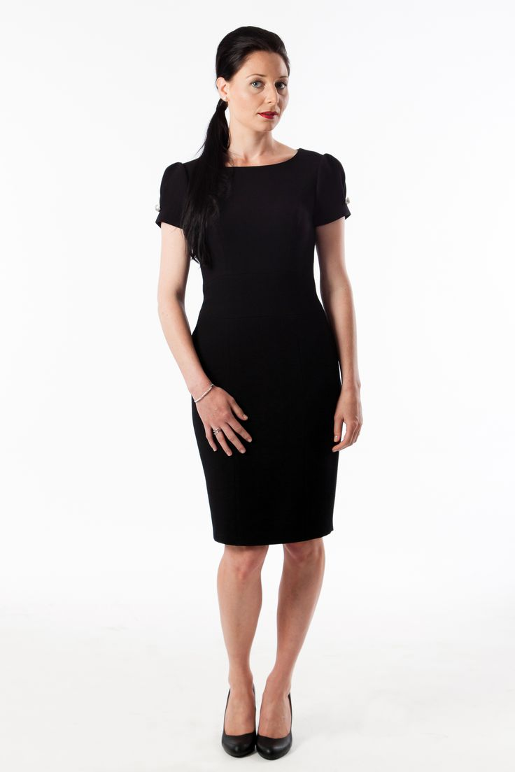 Meet Hakima, our timeless dress! Classic style mixed with a little spice. The only other dress Audrey Hepburn would wear to Breakfast at Tiffany's. Euro 299 available online in more colors www.anyblackdress...